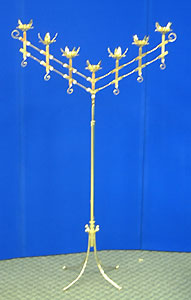Candles & Holder - Candelabra, Seven Light Rental