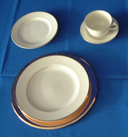 China & Dinnerware - Diplomat Saucer Rental